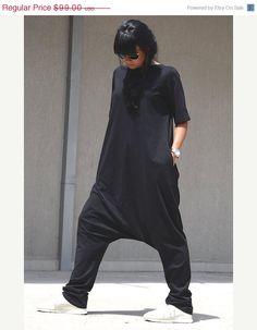 25b6e9853e7 ON SALE Free Shipping Black Jumpsuit   Loose by KOTYTOstyleLAB Móda