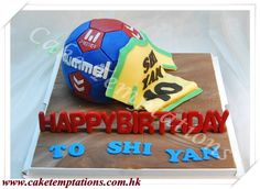 3D HandBall Cake - Sports/Car/Men Series