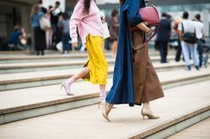 New York Fashion Week Spring 2015 Day 6 - New York Fashion Week Spring 2015 Street Style | W Magazine