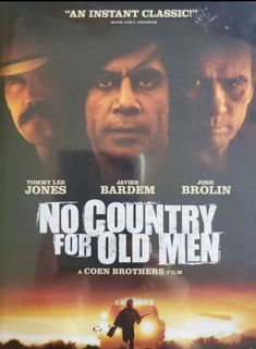 No Country For Old Men (2007) Man Movies, Drama Movies, Josh Brolin Movies, Tommy Lee Jones Movies, Movies For Sale, Coen Brothers, Javier Bardem, Electronic Media, Cartoon Movies