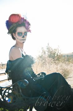 Day of the dead shoot   Makeup and photographer: Aubrey Brower