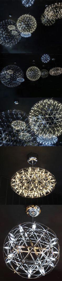Мульти из светодиодов лампы сверкающих металла ретро linghting шар тень свет сферические люстры промышленного подвесной светильник