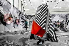 """""""Tobias Rehberger. Home and Away and Outside"""", exhibition view. © Schirn Kunsthalle Frankfurt, 2014 #art #exhibition"""
