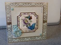 Made with Hunkydory- Butterfly Botanica craft stack