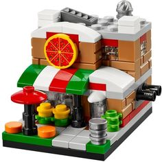 40181-1: Bricktober Pizza Place | Brickset: LEGO set guide and database