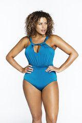 Plus Size Designer Swim - Plus Size Swimsuit - Plus Size Bathing Suit   Madison Plus Select