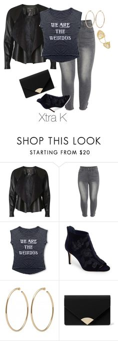 """My Personal Style/Recently worn."" by xtrak ❤ liked on Polyvore featuring Dorothy Perkins, Seven7 Jeans, Imagine by Vince Camuto, MICHAEL Michael Kors, Fallon and plus size clothing"