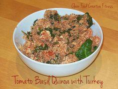 tomatobasilquinoa by cleanfoodcreativefitness, via Flickr
