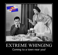 #ExtremeWhinging coming to a TV near you!!!