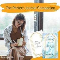 The Perfect Journal Companion BEHOLDHER I am healing & revealing. The Daily Affirmation Deck www.BEHOLDHER.LIFE What Is Self, Self Love, Self Discovery, Journal Prompts, Daily Affirmations, Powerful Words, Words Of Encouragement, Best Self, The Past