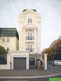 thiết kế nhà phố Hải Phòng