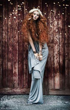 Anastasia by Viktoria Bolkina, via Behance - Fashion Photography