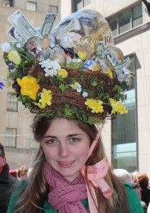Wacky Hats (and More) at the Easter Parade in New York City Easter Bonnets, Easter Bunny, Easter Hat Parade, Funny Hats, Easter Chocolate, Creative Kids, Happy Easter, Happy Holidays, Crochet Hats