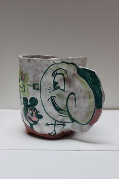 Kristen Morgin, Cup, Glazed Ceramics