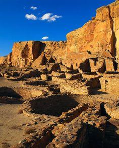 Chaco Canyon Anasazi ruins - Bing Images