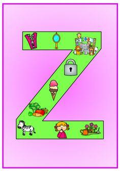 Produkt - Písmenka - výzdoba třídy Kindergarten, Education, Logos, Lyrics, Logo, Kindergartens, Onderwijs, Learning, Preschool