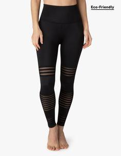 Mesh To Impress High Waisted Midi Legging | Beyond Yoga