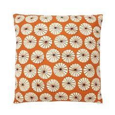 Home Collection Basics Orange Dandelion Print Cushion From Debenhams Living Room Orange, Scandi Home, Printed Cushions, Home Collections, Baby Items, Dandelion, Throw Pillows, House Styles, Debenhams