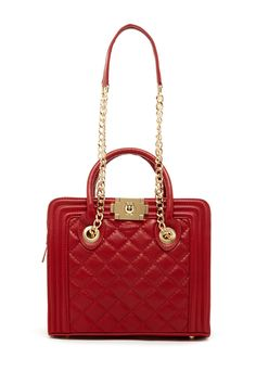Anna Luchini | Quilted Mini Leather Shoulder Bag | Nordstrom Rack