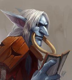 World of Warcraft - Troll fan art