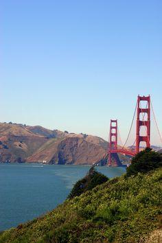 San Francisco, Ca.an incredible bridge! San Francisco California, California Dreamin', Most Beautiful Cities, Wonderful Places, Natural Wonders, Golden Gate Bridge, Bay Area, Travel Usa, Places To Travel