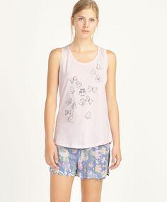 Butterfly t-shirt, nullQR - null - Find more trends in women fashion at Oysho . Summer Kids, Summer Sale, Night Suit, Sleepwear & Loungewear, Pajamas Women, Spring Summer Fashion, Lounge Wear, Beachwear, Sportswear