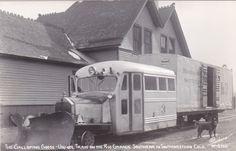 RP: Rio Grande Southern Galloping Goose Train ,  Colorado, 30-40s SANBORN W-3166