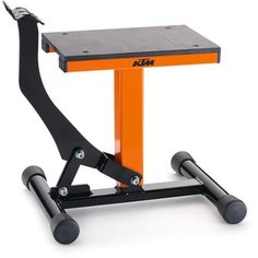 KTM PowerParts Lift Stand | MotoSport Metal Art Projects, Welding Projects, Homemade Tools, Diy Tools, Bike Lift, Small Yachts, Garage Organisation, Yacht Builders, Bike Engine