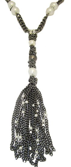 Pearls, Crystal and Tassel Jewelry