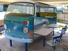 VW picnic area!