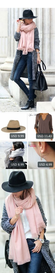 This is Sirma Markova's buyer show in OurMall;  1.Sun Hats Solid Cotton Men Beach Summer Hats For Male Fedora Trilby Gangster Cap Church Jazz 2.Shoulder Long Sleeve V-Neck Women's Tops Summer Style  Solid Blusas 3.Women Scarf  Around The Neck Female Scarf Tassel Shawl 4.fashio... please click the picture for detail. http://ourmall.com/?aUvIRj  #cardigan #cardiganforwomen #femalecardigan #woolcardigan #cardiganmujer #cardigankimono #cardigan #cardiganvintage