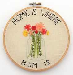 Image result for mother's day hand embroidery designs