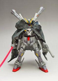 GUNDAM GUY: HGBF 1/144 Crossbone Gundam Maoh - Customized Build