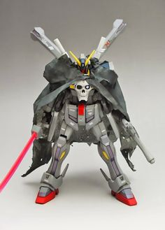 GUNDAM GUY: HGBF 1/144 Crossbone Gundam Maoh - Customized Build