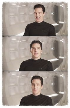 dear Mr. Cumberbatch, you CANNOT be this cute in a villain's costume... it confuses us fangirls... STOP IT! lol!