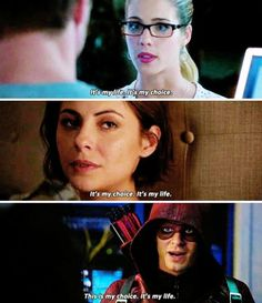 Arrow - Felicity, Thea & Roy #2.3 #4.12 <3
