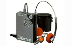 I think I had this Sony Walkman cassette player in 1982.