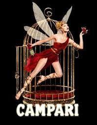 Vintage Bitter Campari Fairy Lithograph Advertisement Art Print by JA(c)anpaul Ferro - X-Small Vintage Italian Posters, Pub Vintage, Vintage Advertising Posters, Vintage Labels, Vintage Advertisements, Retro Posters, Cheap Advertising, Poster Vintage, Movie Posters
