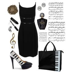 """play on piano"" by marianna-vintage on Polyvore"