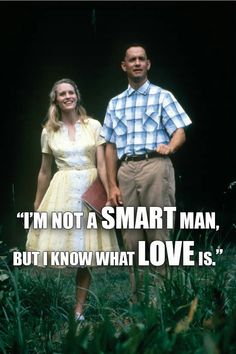 Forest Gump ♡  aww this part of the movie always makes me say aw over and over again its so cute! ^_^