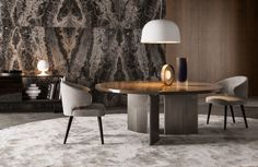 Contemporary furniture|  grey palette dining room decor for a modern home| www.bocadolobo.com #diningroomdecorideas #moderndiningrooms