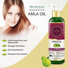 Amla Oil is a powerful antioxidant rich in vitamins, essential fatty acids and minerals. It nourishes & strengthens hair from the roots to make it long, strong and beautiful.