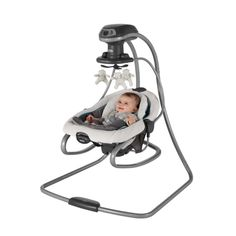 buy graco duetconnect lx swing and bouncer finley at walmartcom baby utility pinterest bouncers and babies