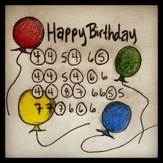 """Harmony CaPleur showcases """"Happy Birthday"""" as a great song to know to keep from having to buy a gift or to help give a gift from the heart."""