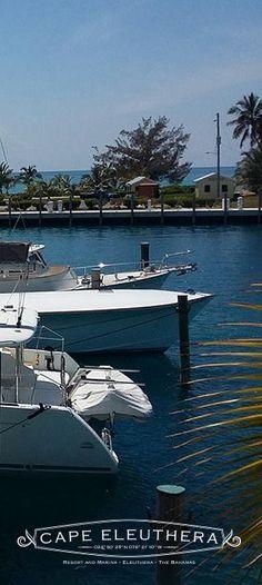 Cape Eleuthera marina (Bahamas) takes boats up to 200'!