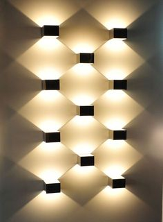 Led Indoor Wall Lamps Ktv Corridor Wall Lights For Home Square Round Led Aluminum Wall Lamp Indoor Decoration Modern Led Cross Starlight Sconces Ligh Up-To-Date Styling Lights & Lighting