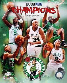 Celtics 2008 Champs Composite Boston