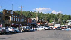 Downtown Cloudcroft, NM