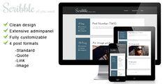 Scribble - a free WordPress blogging theme