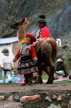 We love how colorful the culture is in Peru.